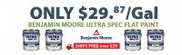 Benjamin Moore Only $29.87/Gal