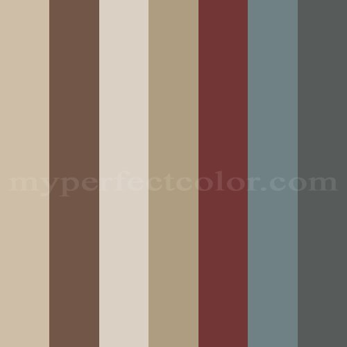 2012 home colors scheme created by lnuss - Maroon and grey color scheme ...