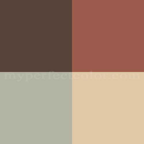 benjamin moore pottery barn colors winter 2007 refined rustic scheme created by. Black Bedroom Furniture Sets. Home Design Ideas