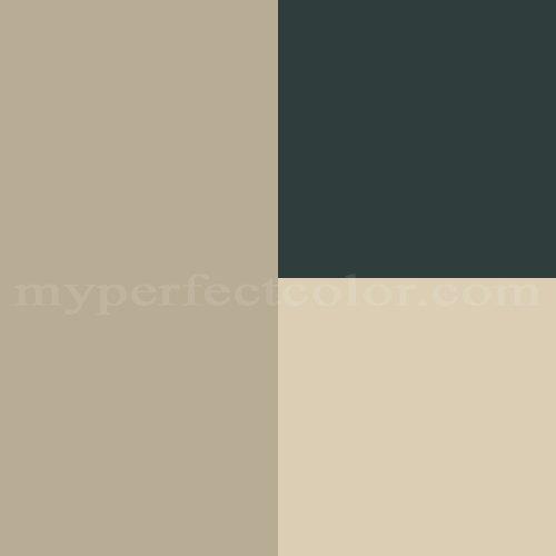 Benjamin Moore™ Color Combinations - Exterior 35 Scheme Created By