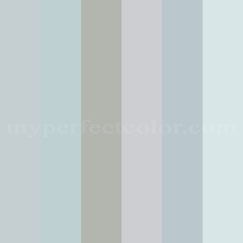 Blue Gray Colors Scheme Created By Jeneowens