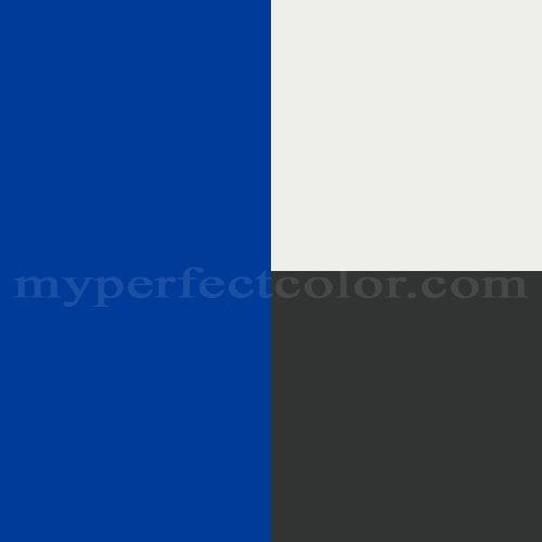 What Paint Color Matches The Duke Blue