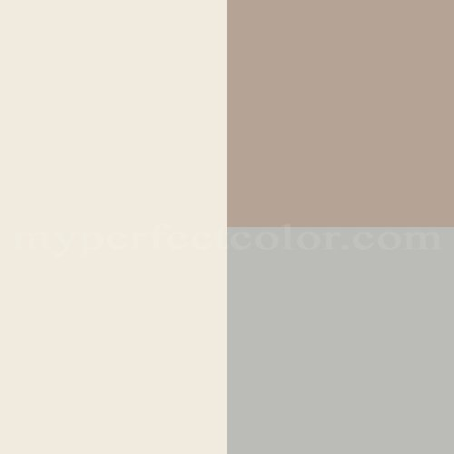 Benjamin Moore Affinity Color Collection Pure Harmony 3 Scheme Created By
